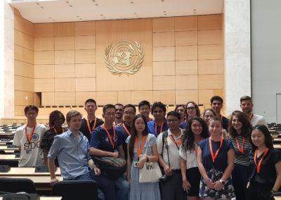 Students at UNOG