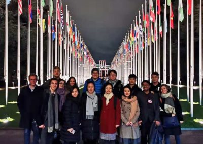 GTI Innovation exchange at the UNOG